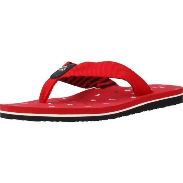 TOMMY HILFIGER BEACH SANDALS tango red