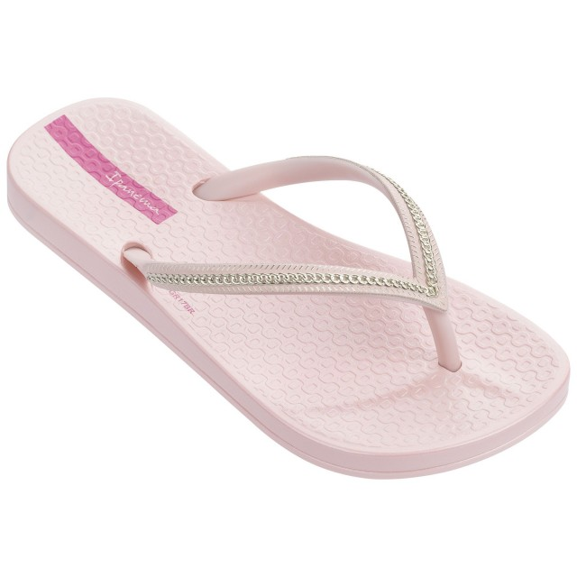 ipanema anatomic meatllic kids pink gold