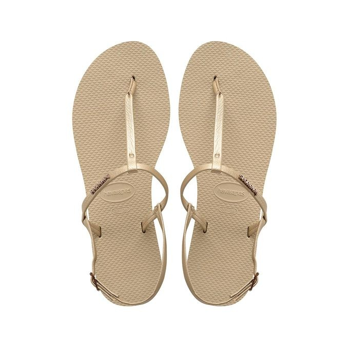 83a93397d9a Havaianas You Riviera sand grey dames sandaal - Slippery - Dé online ...