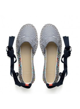 HAVAIANAS ORIGINE SLIM PRINT white / black