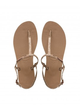 HAVAIANAS YOU RIVIERA CROCO Rose Gold