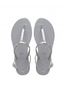 HAVAIANAS YOU RIVIERA MAXI Ice grey