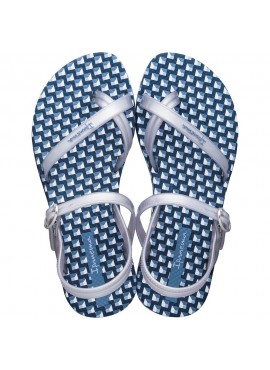 IPANEMA FASHION SANDAL KIDS Blue / Silver