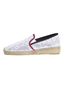 TOMMY HILFIGER MESH SPORTY ESPADRILLE Bright white