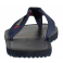 TOMMY HILFIGER ELEVATED LEATHER BEACH SANDAL midnight